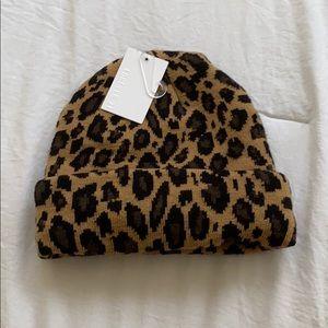 BRAND NEW W/ Tags Leopard Beanie